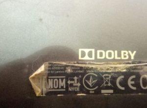 Lenovo A5500-H фотография маркировки