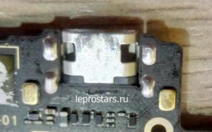 Lenovo K50-t5(Lenovo K3 Note) усиление разъёма зарядки