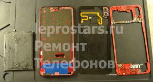 Huawei Honor 8x части телефона после разборки (Ульяновск ремонт телефонов)