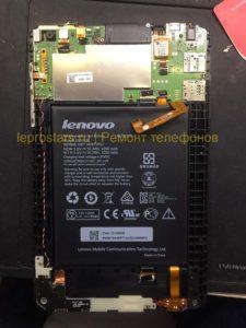Планшет Lenovo A5500-H вид под крышкой