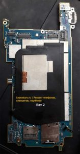 Sony C6503 Xperia ZL основная плата