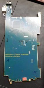 Sony C6503 Xperia ZL основная плата обратная сторона