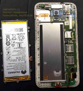 Huawei Y3 2017 (CRO-L22) Разборка устройства