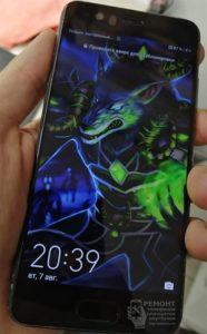 Huawei P10 (VTR-L29) Ремонт завершен, а исправный аппарат с новеньким экраном и в защитном стекле под цвет телефона передан довольному клиенту