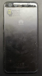 Huawei P10 (VTR-L29) вид со стороны задней крышки