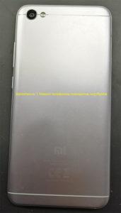 Xiaomi Redmi Note 5a (MDG6) вид со стороны задней крышки