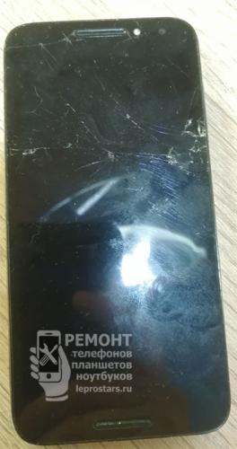 Alcatel A3 Prime 5046D экран разбит, изображения нет, таким это устройство поступило на ремонт