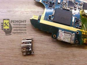 Ремонт Samsung s3 i9300 замена разъёма зарядки