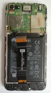 Honor 7a (DUA-L22) вид после снятия защитного экрана