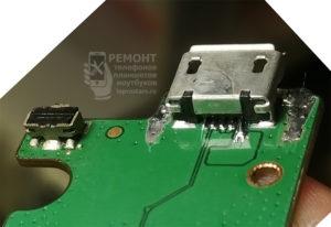 Lenovo A7600-H Замена разъёма завершена, всё в порядке
