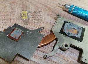 Lenovo g580 старая паста ещё не высохла, но мы все равно её заменим. Да и навалено тут её через чур