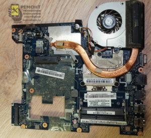 Lenovo g580 материнская плата после извлечения из корпуса
