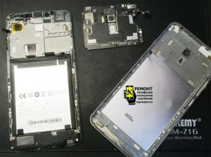 Meizu M3 Note (l681h) вид после раскрытия корпуса