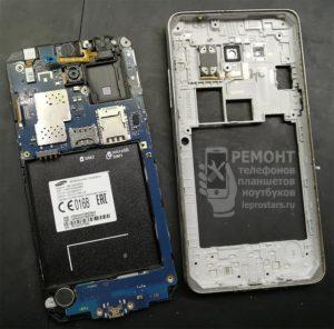 Samsung g531 вид после раскрытия корпуса